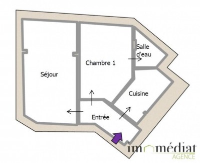 Rueil malmaison: 2 pièces: Image 4