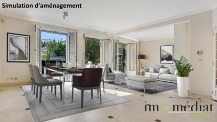 Rueil malmaison: 7 pièces: Quartier mont valérien, sur 393 m² de parcelle, maison