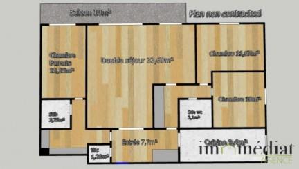 Rueil malmaison: 5 pièces: Sur les hauts de rueil, au sein d'une résidence bien